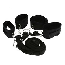 Sex Under Bed Restraint Cuffs Set Sexual Bondage System Strap Fetish Toy Adult