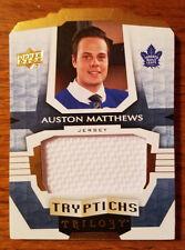 2016-17 Upper Deck Trilogy Rookie Tryptichs Auston Matthews Jersey #/249