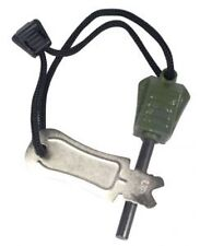 Web-tex Steel of Fire Cadet Bush Craft/ Survival Flint & Steel Fire Starter