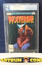Wolverine mini-series #3 PGX 9.6  -  1st Wolvie in his own title, white pages!