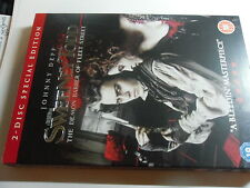 SWEENEY TODD 2 DISC SPECIAL EDITION STARRING JOHNNY DEPP  [NEW STILL SEALED]