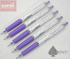 24pcs NEW version Dot VIOLET Uni-Ball Signo UMN-138S 0.38mm roller pen BLACK ink