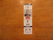 COONEY WEILAND  BOSTON BRUINS UNUSED TICKET 11-3-94 VS PITTSBURGH BOSTON GARDEN
