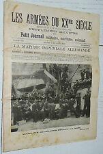 1904 LES ARMEES DU XX ème SIECLE MARINE DE GUERRE REICHSMARINE DEUTSCHLAND