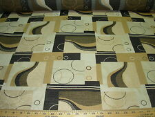 """~18 1/8 YDS~MODERN RETRO EAMES ERA~""""CIRCLE GAME""""~UPHOLSTERY FABRIC FOR LESS~"""