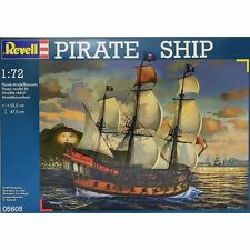 Revell Pirate Ship Model Ship Kit - 1:72 Scale Kit 05605