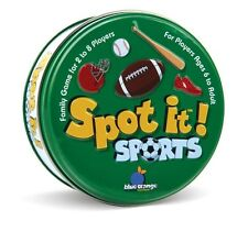 NEW! Spot it Sports Family Matching Game Educational Fun Ages 6+, 2-8 Players