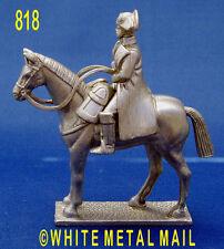 Fusione di piombo militare 818 1:32 SCALA Napoleonico Napoleone Bonaparte a cavallo