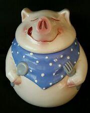 Clay Art PIG OUT Series Cookie Jar