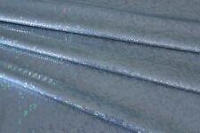 Dance Costume Spandex Lycra Light Blue Shattered Glass 50cm - 150cm wide