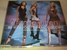 ATOMIC KITTEN - BE WITH YOU / THE LAST GOODBYE - UK CD SINGLE