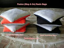 8 Resin Cornhole Bags Black Orange Stop Go Slick Stick ACO Harley Davidson Color