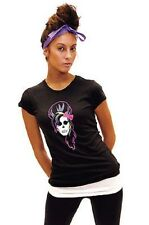 TOXXIC AMY WINEHOUSE BLACK WOMEN'S T-SHIRT SKULLEBRITIES MUSIC PARODY ICONIC