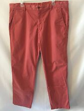 Tommy Bahama Casual Pants Men's Size 38X34 Mauve Pink Straight Leg