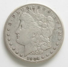 1904 S US Mint Morgan Silver One Dollar $1 Coin