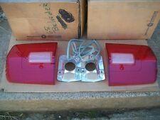 NOS MoPar 1968 Plymouth Road Runner Satellite GTX Pair of Tail Light Lenses