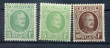 BELGIEN 1926 216 FARBEN+ 257 * (L3355