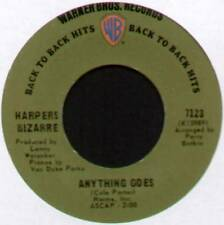 "HARPERS BIZARRE ~ ANYTHING GOES / CHATTANOOGA CHOO CHOO ~ 1969 US 7"" SINGLE"