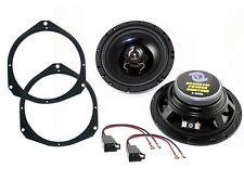 Altoparlanti + supporti per FIAT DUCATO 2 vie 120 watts - 16,5 cm casse anteri