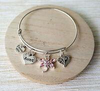 Personalised Gift Bracelets mum sister daughter cousin teacher - Gift for Her