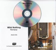 WILD NOTHING Reichpop 2016 UK 1-track promo test CD Bella Union