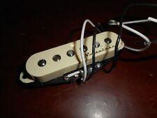 NEW - Fender Lefty Strat Noiseless Neck/Middle Pickup - AGED WHITE, 005-3352-030