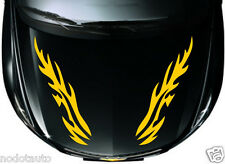 Car Flames Racing Hood Decals Vinyl Decor sticker #CG312