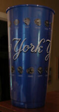 NY Yankees 2012 Stadium Issued Plastic Beer Cup With CHAMPIONSHIP RINGS On It