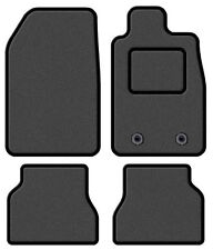 TOYOTA RAV 4 2006-2013 TAILORED GREY CAR MATS WITH BLACK TRIM