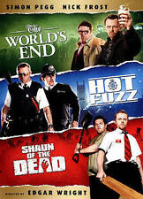 The World's End / Hot Fuzz / Shaun of the Dead Trilogy [DVD] (2013) *New DVD*