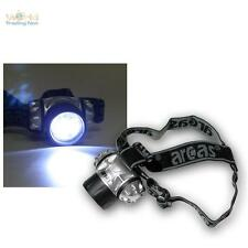 LED Lampe frontale / de casque avec 9 LEDs incl. Batteries