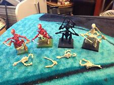 Tiranidi x 4 per attacco Tiranidi & SPACE HULK 40k WARHAMMER 1992 Games Workshop