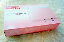 Nintendo 3DS XL Pink & White System Console w/Charger Complete In Box Near Mint