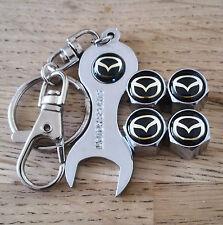 Mazda Cromo Polvo Tapas De La Válvula Llave limitada todos los modelos Retail Pack Mazda 5 RX-7