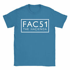 FAC51 Mens T-Shirt - Factory Records Hacienda Stone Roses Happy Mondays