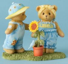 Cherished Teddies*BEARS SUNFLOWER PLANT*New*ALL THINGS GROW WITH LOVE*4037357