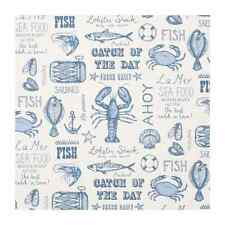 Fabric 100% Cotton Clarke & Clarke Sea food