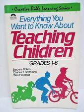 Everything You Want to Know About Teaching Children