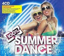 100 Percent Summer Dance New CD