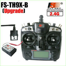 FlySky FS-TH9X-B 2.4G 9CH Radio System Transmitter + FS 2.4Ghz Receiver Mode 2