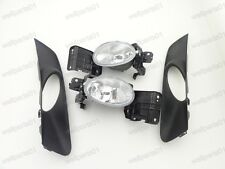 New OEM Fog Lights Lamps & Grilles Kits For Honda Accord Crosstour 2010