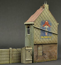 DIO72-007 Belgian house1:72 scale resin military diorama model kit building