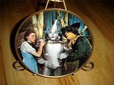 THE WIZARD OF OZ COMMEMORATIVE The Tin Man Speaks HAMILTON MOVIE PLATE