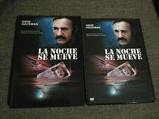 DVD LA NOCHE SE MUEVE -  GENE HACKMAN - 1975 - WARNER BROS - VANITY FILM - RARE