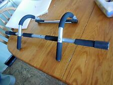 PRO FIT IRON GYM PULL UP BAR TOTAL UPPER BODY WORKOUT EXERCISE STRENGTH FITNESS