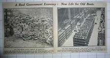 1917 New Life For Old Boots South London Works Women Sorting