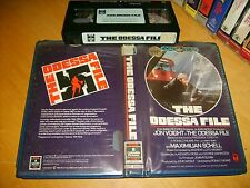 VHS *THE ODESSA FILE(1974)* RARE Pre Cert RCA Opal Series Issue - Drama Thriller