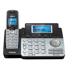 V-Tech VT-DS6151, 2 Line expandable cordless phone system, Digital answ. syst.