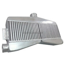 """CXRacing Universal 2-in-1-out Twin Turbo Intercooler 3.5"""" Thick Core"""