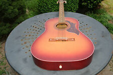 Vintage Egmond Acoustic Guitar Six String Vintage Musical Instrument Guitars Old